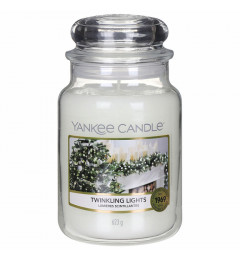 Mirisna sveća u tegli L -Twinkling Lights (badem, mlečne note, vanila, sandalovina...)