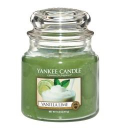 Mirisna sveća u tegli M - Vanilla Lime (vanila i limeta)