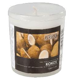 Mirisna sveća u čaši INDRO VINO - Kokos