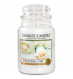 Mirisna sveća u tegli L - Wedding Day (mimoza, jazmin, ruža, citrusi, vanila)