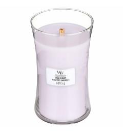 Wood Wick mirisna sveća u tegli L - Wild Violet (ljubičica i vanila)
