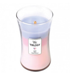 Wood Wick Trilogy Mirisna sveća u tegli L - Botanical Garden
