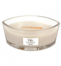 Wood Wick Mirisna sveća u ovalnoj tegli - Warm Wool