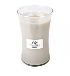Wood Wick mirisna sveća u tegli L - Warm Wool (miris vune i poljskog cveća)