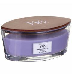 Wood Wick Mirisna sveća u ovalnoj tegli - Lavender Spa (lavanda)