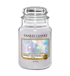 Mirisna sveća u tegli L - Sweet Nothings (Vanila, mošus i amber)